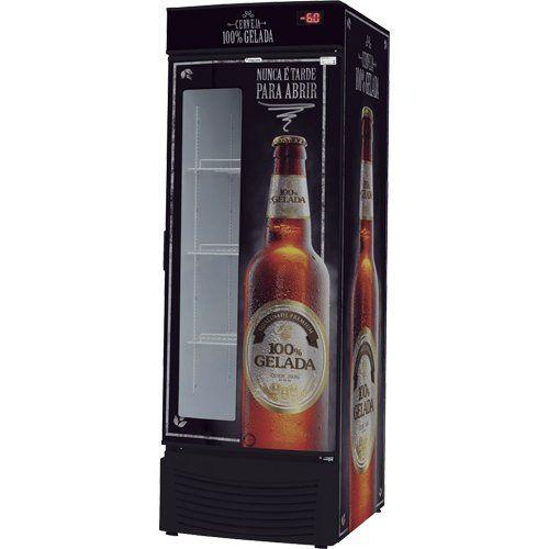 Cervejeira Vertical 431L VCFC 431 D c/ Visor - Fricon  - ZIP Automação