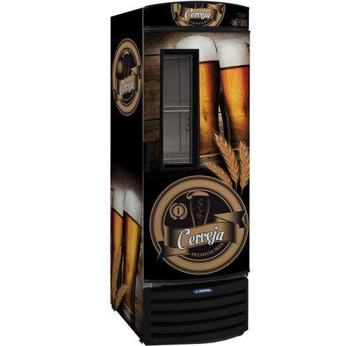 Cervejeira Vertical 434L VN44FL c/ Visor - Metalfrio  - ZIP Automação