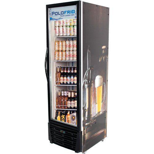 Cervejeira Vertical 450L Porta de Vidro - Polofrio  - ZIP Automação
