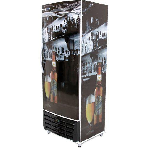 Cervejeira Vertical 450L Porta Sólida - Polofrio  - ZIP Automação