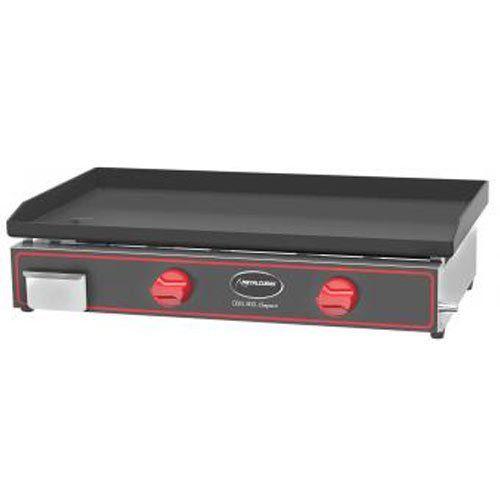 Chapa a Gás 2 Queimadores Metalcubas CBG 800 C  - ZIP Automação
