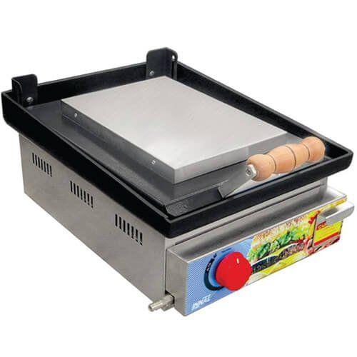 Chapa Bifeteira Master 1 Queimador CBM1Q - Innal  - ZIP Automação