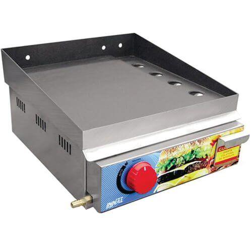 Chapa Bifeteira Standard 1 Queimador CBS1Q - Innal  - ZIP Automação