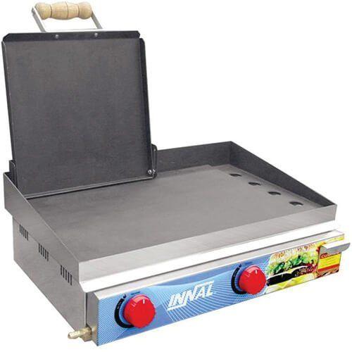 Chapa Bifeteira Standard 2 Queimadores CBS2Q - Innal  - ZIP Automação