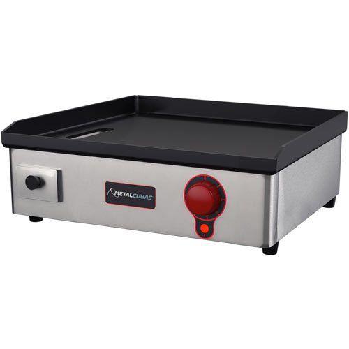 Chapa Elétrica 1 Queimador Metalcubas Light CBE 600L 127V  - ZIP Automação