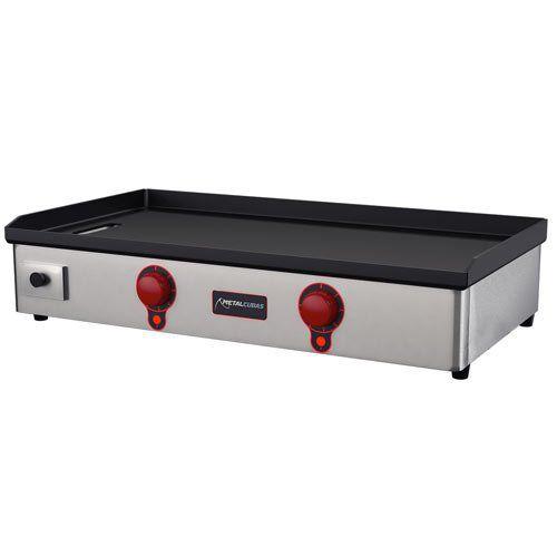 Chapa Elétrica 2 Queimadores Metalcubas Light CBE 1000L 127V  - ZIP Automação