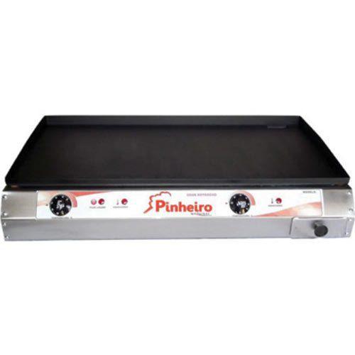 Chapa Elétrica 2 Queimadores Pinheiro PB-C84 220V  - ZIP Automação