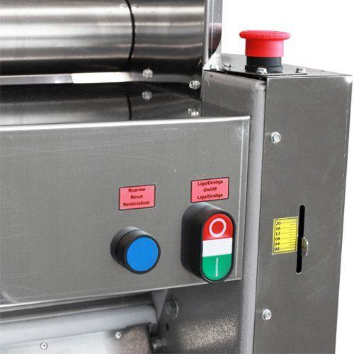 Cilindro Laminador de Massas 510mm c/ Cavalete Metvisa CLMC.510 220V  - ZIP Automação