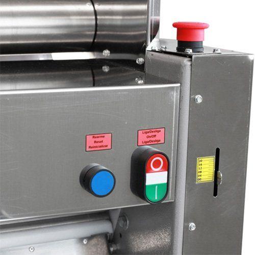Cilindro Laminador de Massas 510mm c/ Cavalete Metvisa CLMC.510 127V  - ZIP Automação