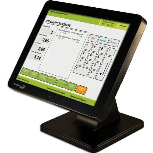 Computador Touch Bematech SB-1015 J1900 4GB HD500GB  - ZIP Automação