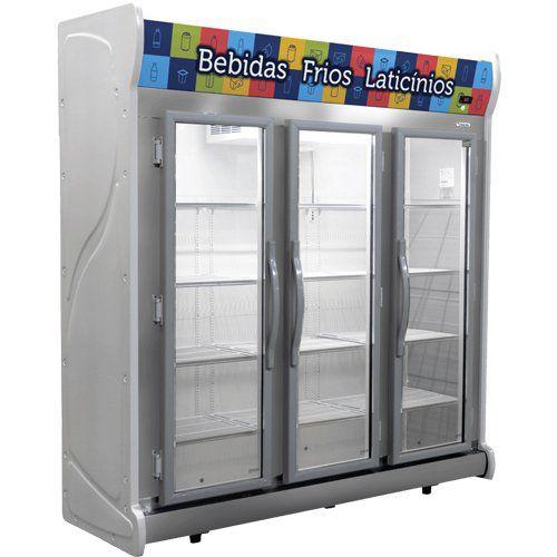 Refrigerador Expositor Auto Serviço 1450L Fricon ACFM 1450 220V  - ZIP Automação
