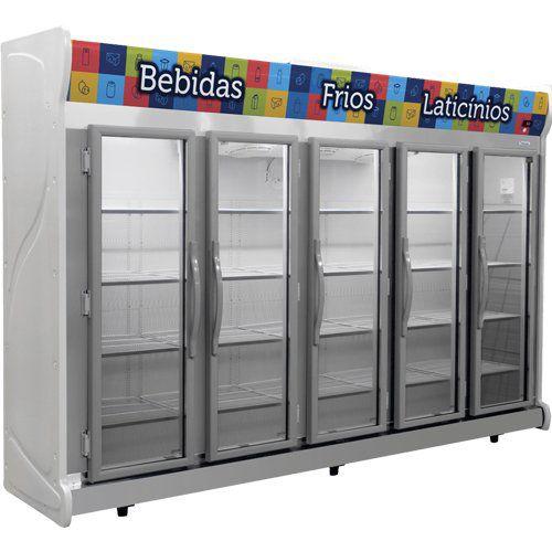 Refrigerador Expositor Auto Serviço 2375L Fricon ACFM 2375 220V  - ZIP Automação