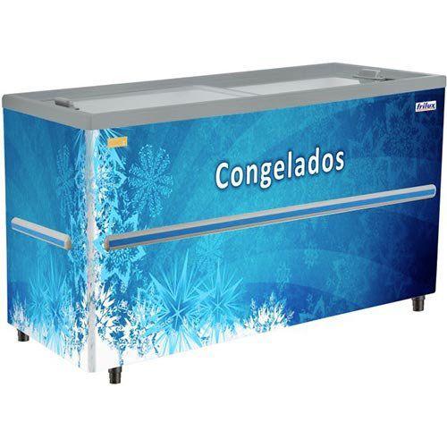 Refrigerador Horizontal p/ Congelados 589L Frilux RF-203 220V  - ZIP Automação