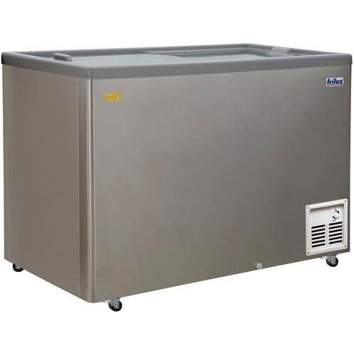 Refrigerador Horizontal 474L Inox Frilux RF-107 I 127V  - ZIP Automação