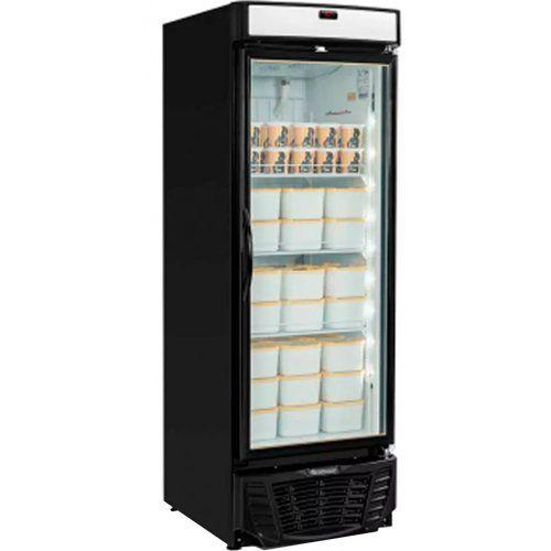 Freezer Expositor Vertical 450L Gelopar Esmeralda GLDF-450 PR 220V  - ZIP Automação