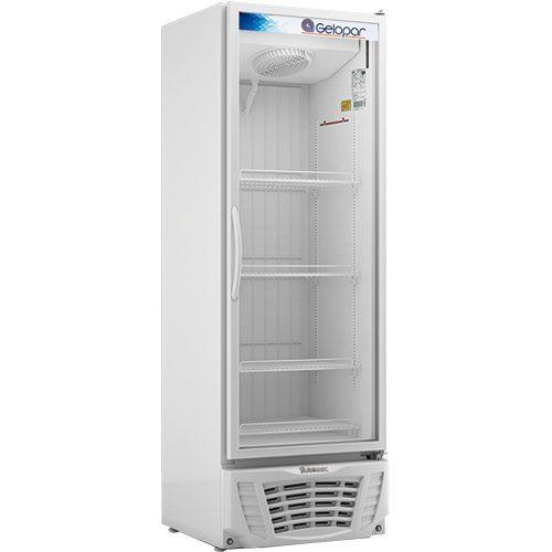 Freezer Expositor Vertical 450L Gelopar Turmalina GPTF-450 BR 220V  - ZIP Automação