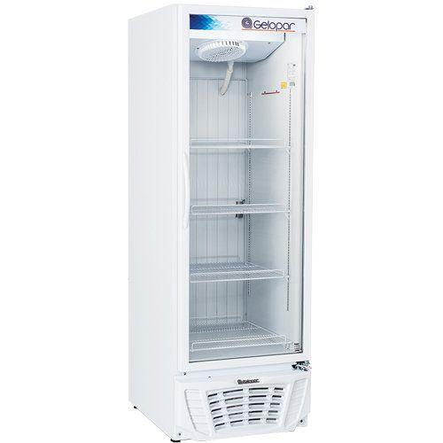 Freezer Expositor Vertical 570L Gelopar Turmalina GPTF-570 BR 220V  - ZIP Automação