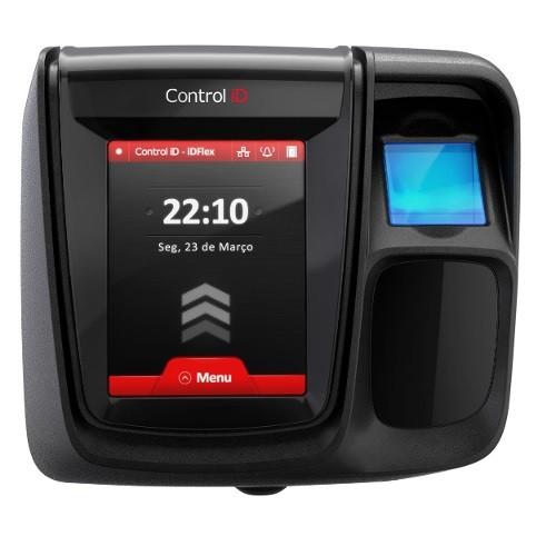Controlador de Acesso Control ID iDClass iDFlex Pro (Biometria + Proximidade)  - ZIP Automação