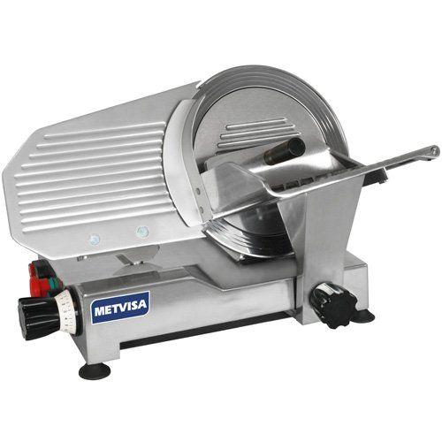 Cortador / Fatiador de Frios Semi-Automático 300mm CFE.300 - Metvisa  - ZIP Automação