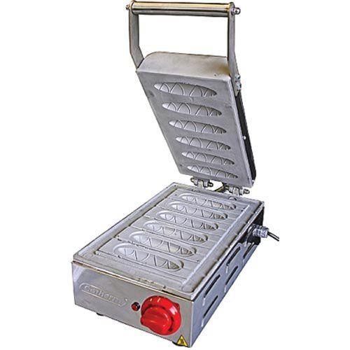 Crepeira Elétrica p/ Crepe Suíço 6 Cavidades Cotherm 127V  - ZIP Automação