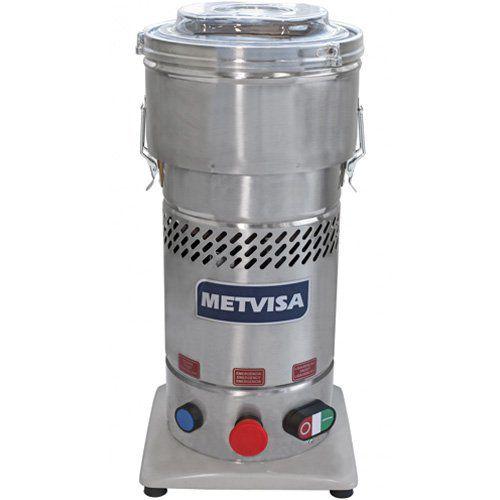 Cutter Inox 4L Metvisa CUT.4 220V  - ZIP Automação
