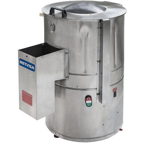 Descascador de Batata Inox 6kg Metvisa DBCA.6 MAX 220V  - ZIP Automação