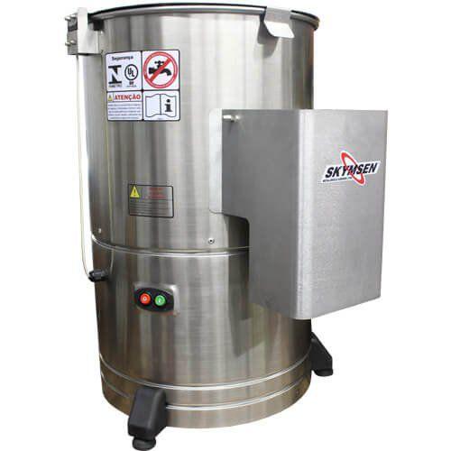 Descascador de Legumes Inox 10kg Skymsen DB-10 220V  - ZIP Automação