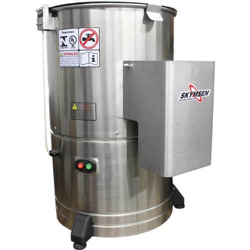 Descascador de Legumes Inox 10kg Skymsen DB-10 127V  - ZIP Automação