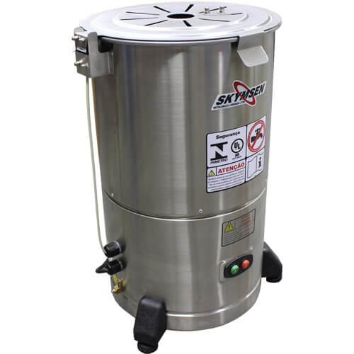 Descascador de Legumes Inox 6kg Skymsen DB-06 127V  - ZIP Automação