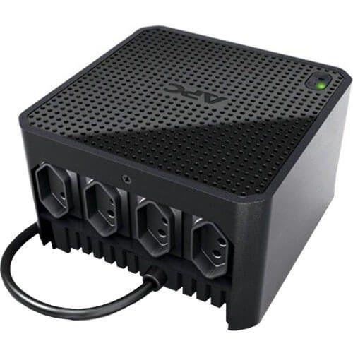 Estabilizador de Energia APC 500VA Microsol CUBIC500-BR Entrada 115V  - ZIP Automação