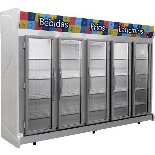 Refrigerador Expositor Auto Serviço 2375L Fricon ACFM 2375 127V  - ZIP Automação
