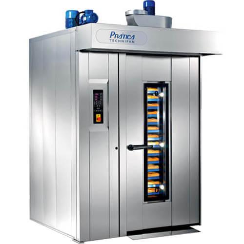 Forno à Gás Rotativo RFG6080 - Prática  - ZIP Automação