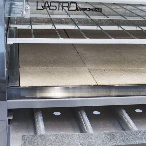Forno Lastro à Gás Porta Guilhotina FLGG.90 - Metvisa  - ZIP Automação