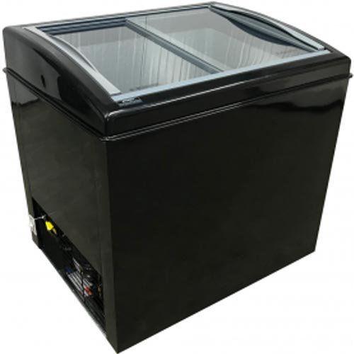 Freezer Tripla Ação Horizontal 300L Ártico Colors FH 300C Preto 220V  - ZIP Automação