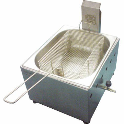 Fritadeira a Gás 1 Cuba Inox 5L Ital Inox FGOI-5  - ZIP Automação