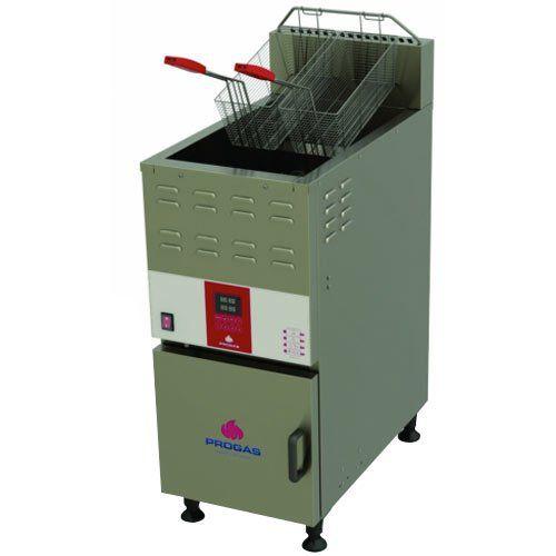 Fritadeira a Gás Água e Óleo 1 Cuba 45L Progás PFAP-45L 127V  - ZIP Automação