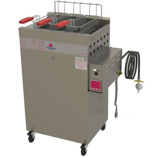 Fritadeira a Gás Água e Óleo 1 Cuba 20L Progás Fry Fritter Style PR-2000BPAT 127V  - ZIP Automação