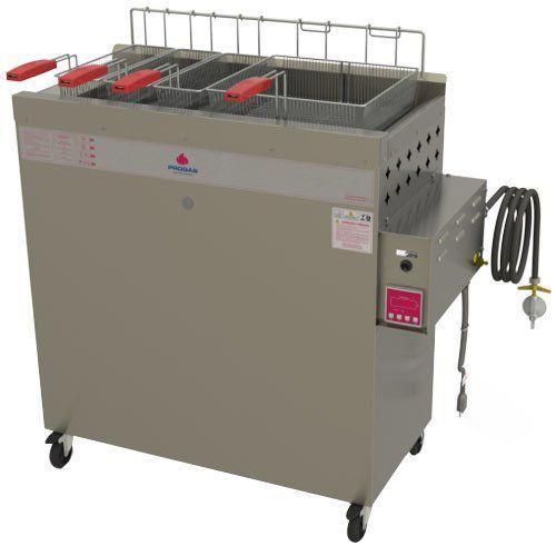 Fritadeira a Gás Água e Óleo 1 Cuba 30L Progás Fry Fritter Style PR-3000BPAT 127V  - ZIP Automação