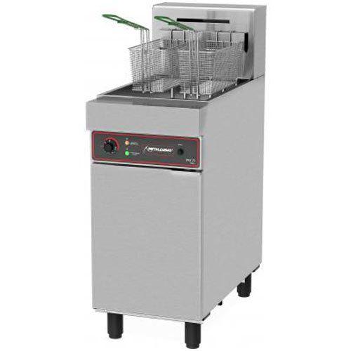 Fritadeira Elétrica Água e Óleo 1 Cuba Inox 25L Metalcubas FAO 2 C 220V Trifásico  - ZIP Automação