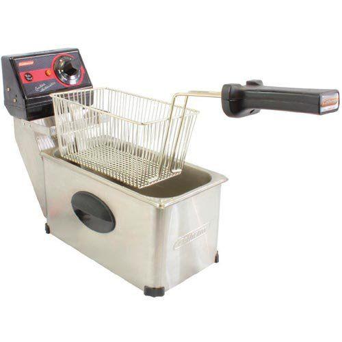 Fritadeira Elétrica 01 Cuba Inox 3L Cotherm Frita Fácil 127V  - ZIP Automação