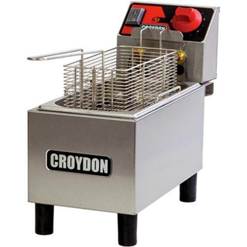 Fritadeira Elétrica 1 Cuba Inox 3L Croydon FC1A 127V  - ZIP Automação