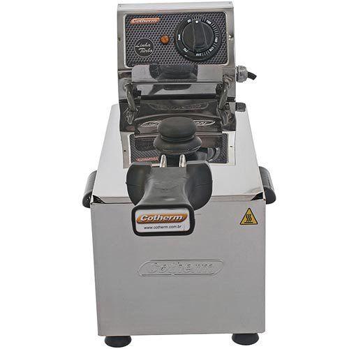 Fritadeira Elétrica 1 Cuba Inox 3L Cotherm Turbo 220V  - ZIP Automação