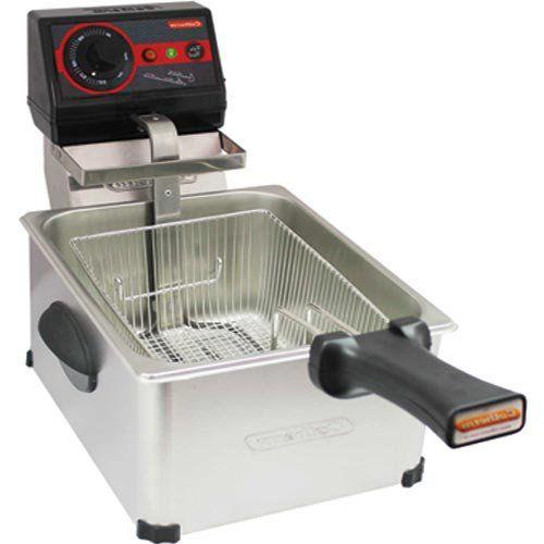 Fritadeira Elétrica 1 Cuba Inox 5L Cotherm Frita Fácil 220V  - ZIP Automação