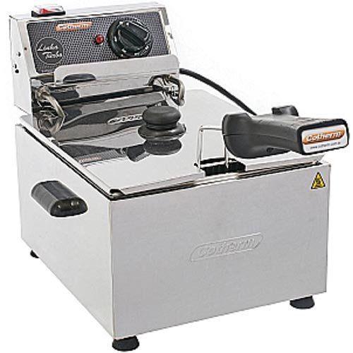 Fritadeira Elétrica 1 Cuba Inox 5L Cotherm Turbo 220V  - ZIP Automação
