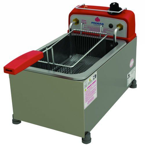 Fritadeira Elétrica 1 Cuba Inox 5L Progás PR-10E 127V  - ZIP Automação