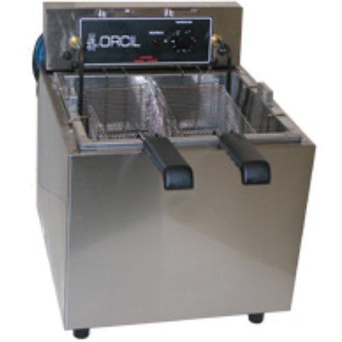 Fritadeira Elétrica Água e Óleo 1 Cuba Inox Orcil FAO3M 220V  - ZIP Automação