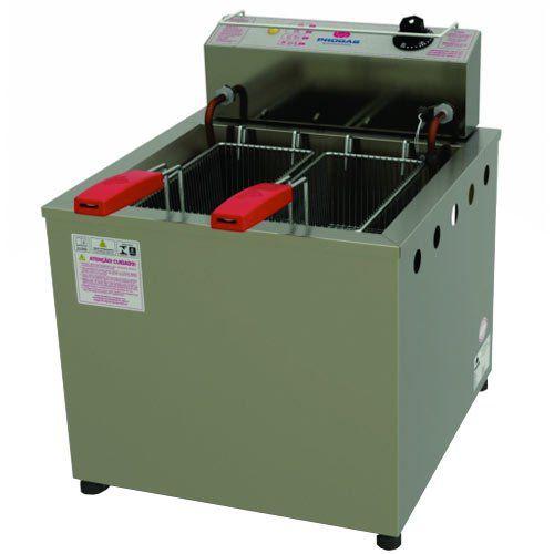 Fritadeira Elétrica Água e Óleo 1 Cuba Inox 13L Progás PR-100E 127V  - ZIP Automação