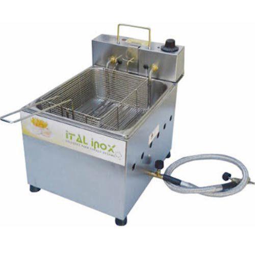 Fritadeira Flex (Elétrica e a Gás) 1 Cuba Inox 5L Ital Inox FOGEI-5 127V  - ZIP Automação