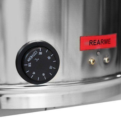 Fritadeira Elétrica Água e Óleo Inox Metvisa FIE.20 220V  - ZIP Automação