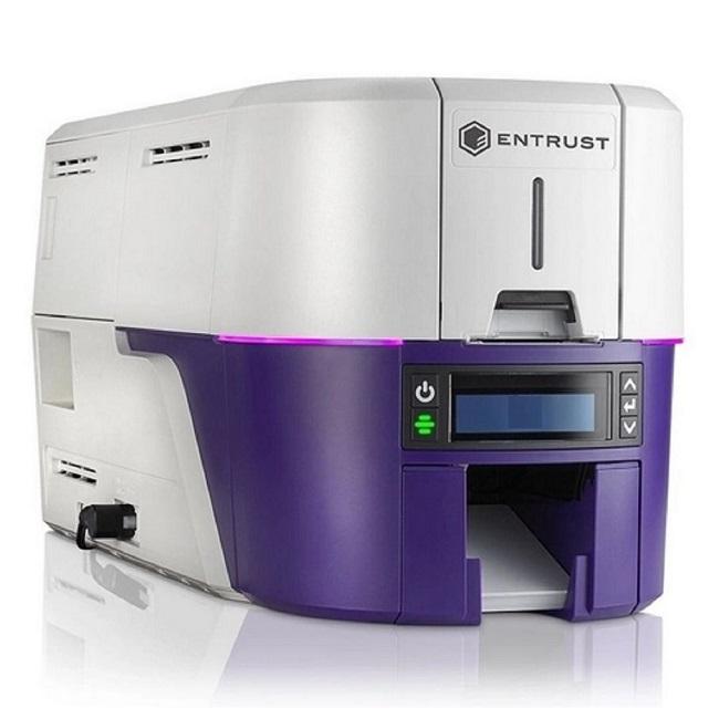 Impressora de Cartão PVC Frente e Verso Datacard Entrust Sigma DS2  - ZIP Automação